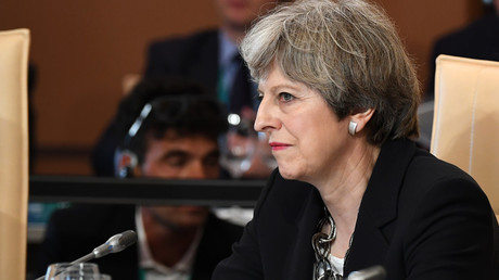Britain's Prime Minister Theresa May © Justin Tallis