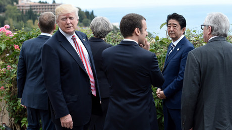 Trade division tensions rise as Trump meets G7 leaders