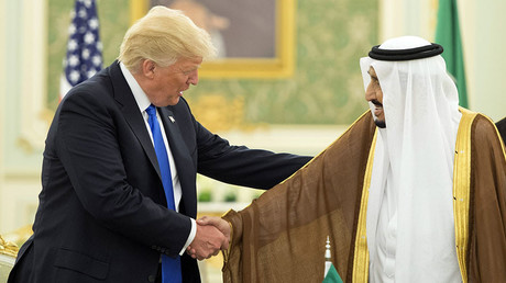 US President Donald Trump and Saudi Arabia's King Salman bin Abdulaziz al-Saud. © Saudi Royal Palace