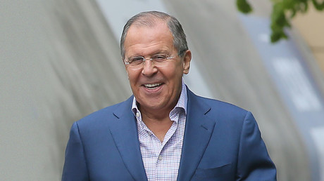 Russian Foreign Minister Sergey Lavrov. © Vitaliy Belousov