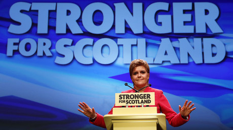 Scottish National Party's leader Nicola Sturgeon © Russell Cheyne