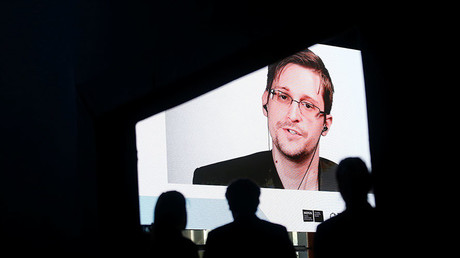 'Rights are lost by cowardly laws': Snowden says govts, not terrorists, undercut free speech