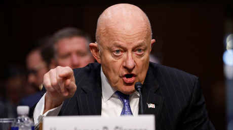Former Director of National Intelligence James Clapper © Aaron P. Bernstein