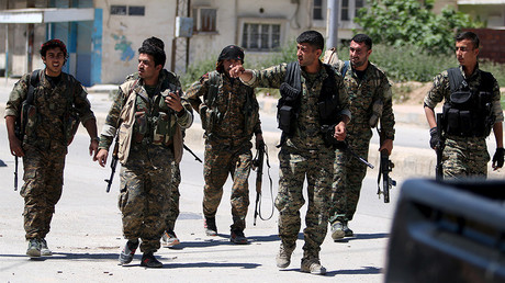 FILE PHOTO: Kurdish fighters from the People's Protection Units (YPG), Syria. © Rodi Said