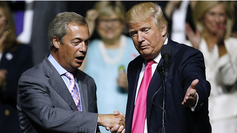 'Fake news!' Farage laughs off claim he's a 'person of interest' in FBI's Russia-Trump probe