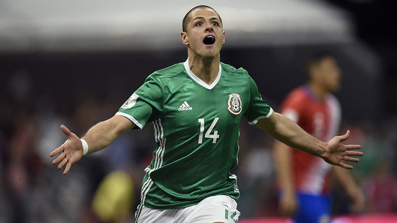 #ConfedCup countdown: Chicharito becomes Mexico top scorer in warm-up match