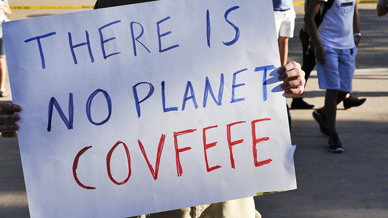 'Covfefe™': Russian company seeks to trademark Trump-ism