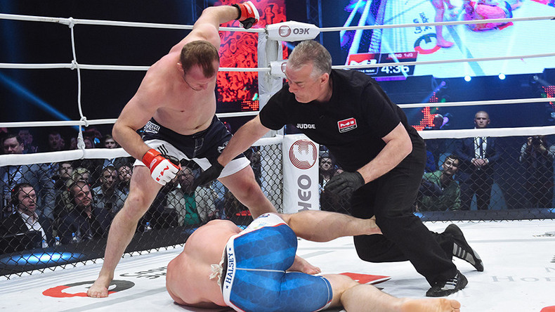 MMA veteran Shlemenko destroys Halsey in 25 seconds, says he's 'up for bigger goals now' (VIDEO)