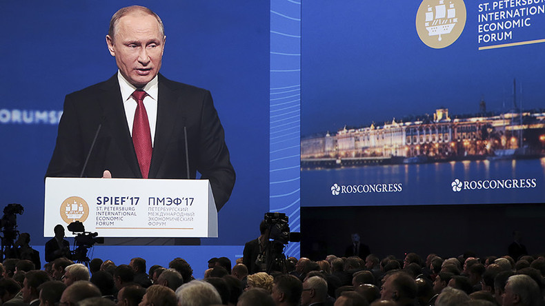 'Saying it's Russians' fault like blaming everything on Jews' – Putin's best quotes at SPIEF