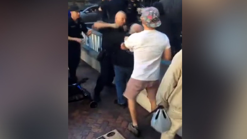 Florida drops felony charges against antiwar protesters accused of battery on police