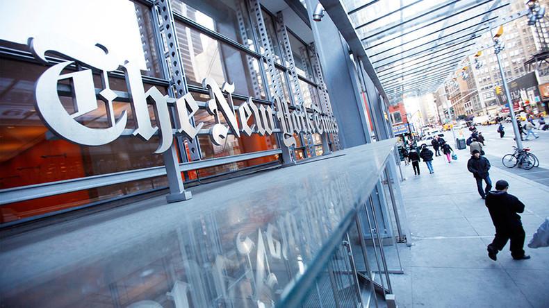 New York Times mercilessly mocked for 'nation reeling' headline following London attack