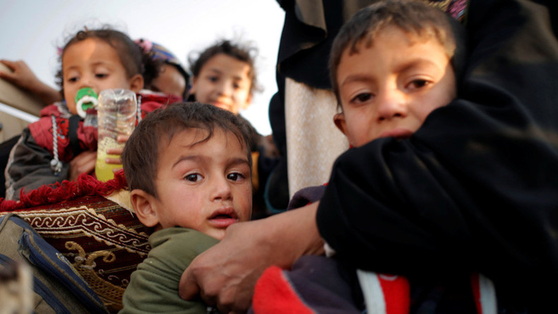 100k children trapped in ISIS-held Mosul, some forced to fight for terrorists – UNICEF