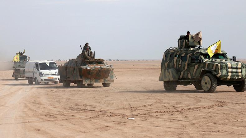 US-backed militia says it has begun siege of ISIS 'capital' Raqqa