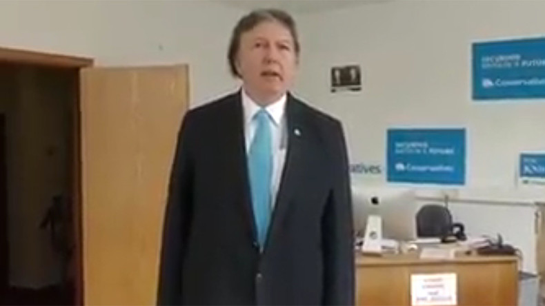 Tory candidate's cringey low-budget election campaign video goes viral (VIDEO)