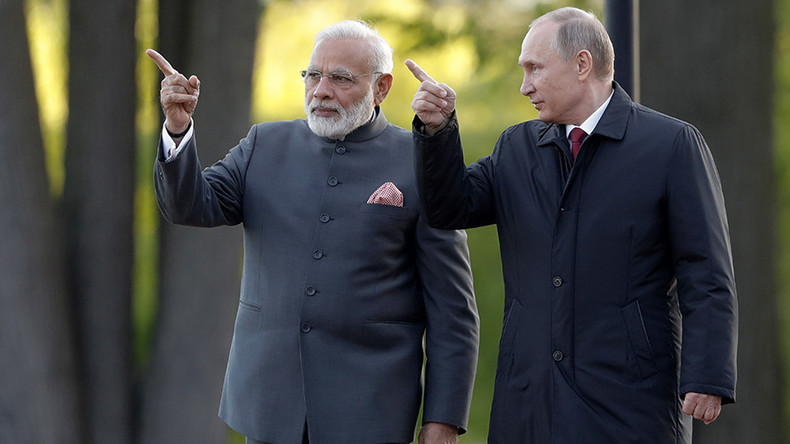 India looks to Russia as regional tensions simmer