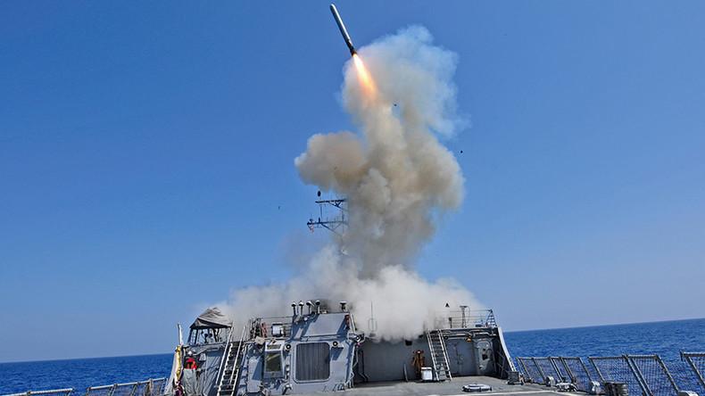 US warship strikes ISIS from eastern Mediterranean - Navy