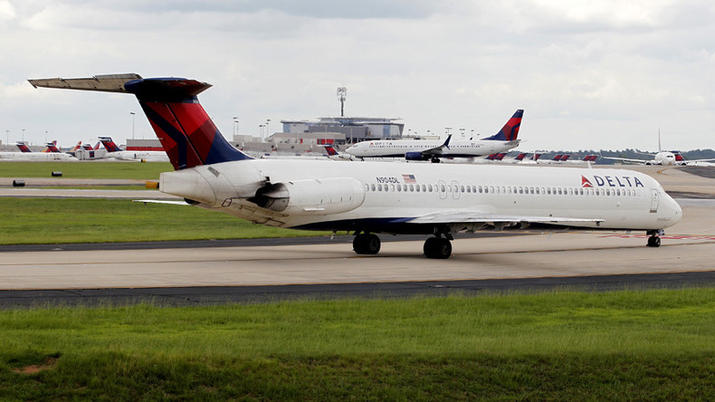 'Got the right one?' Delta pilots cop flak after flight lands at military base
