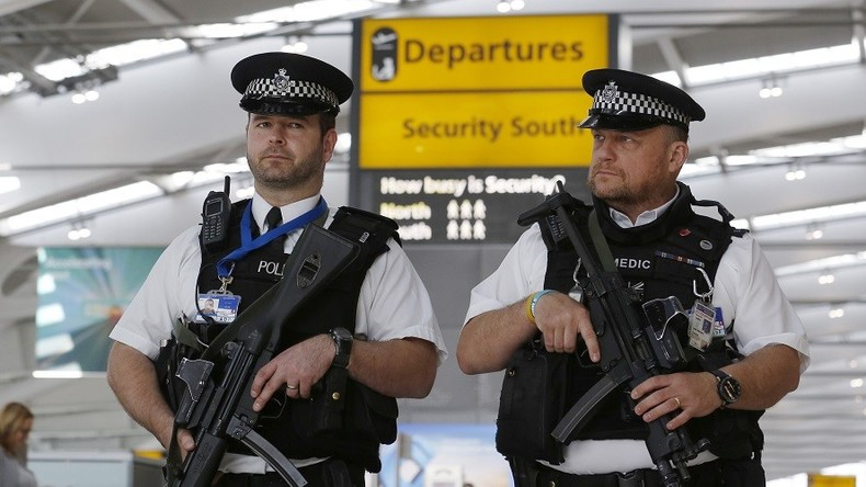 UK police arrest Manchester attack suspect at Heathrow airport