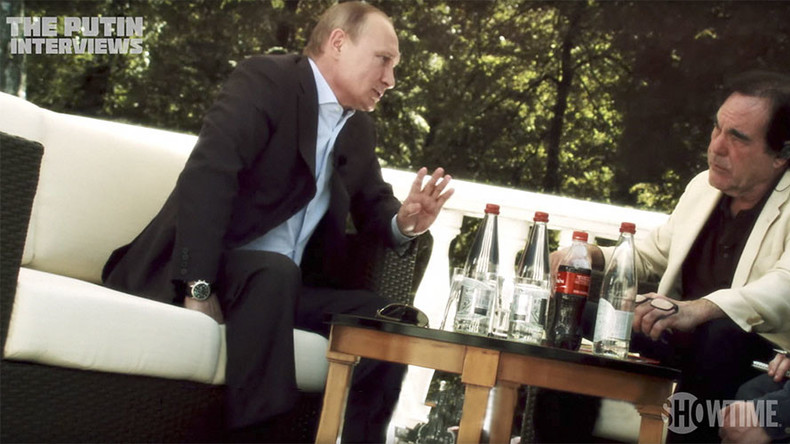 'Nobody would survive': Putin to Oliver Stone on 'hot war' between Russia & US