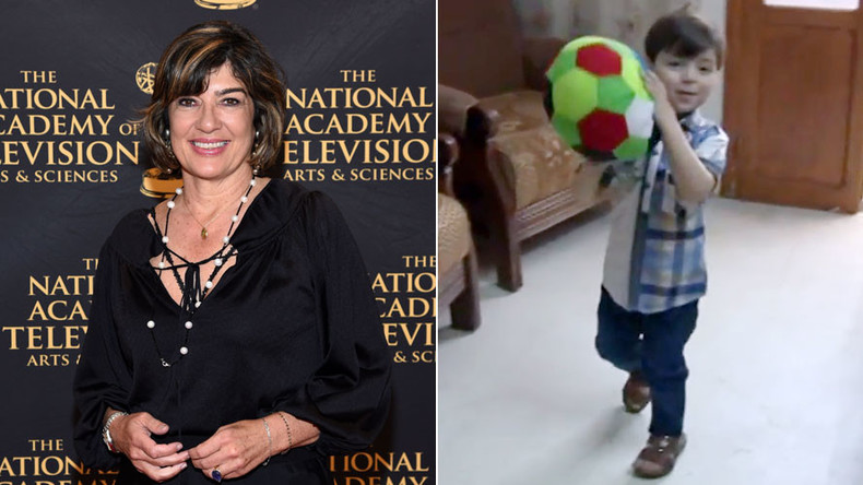 CNN's Amanpour challenged to go talk to 'Aleppo boy'