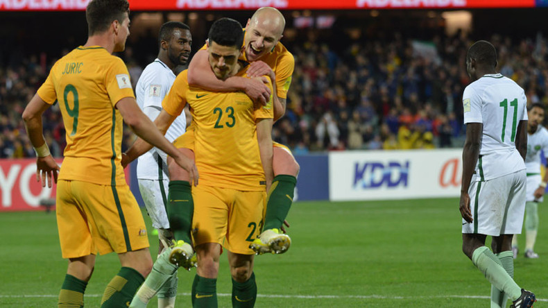 Australia claim vital World Cup qualifying win over Saudi Arabia