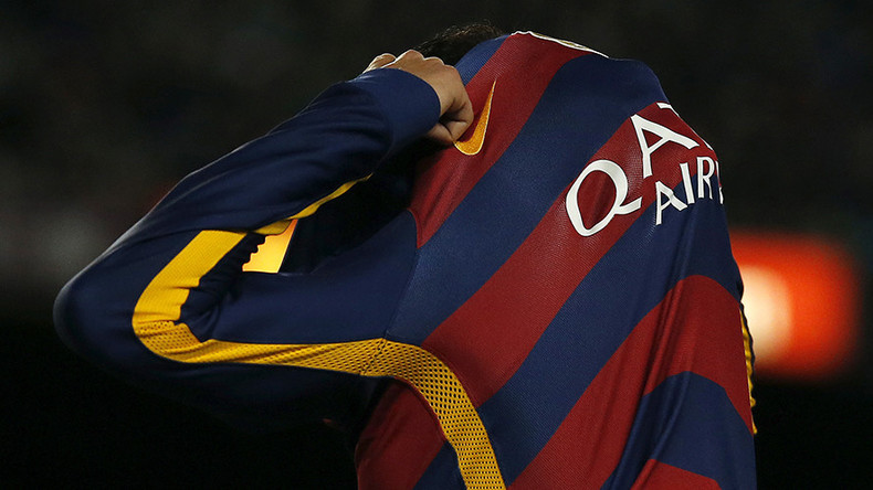 Barcelona Football Fans Could Face 15yrs In Prison 135k Fine In Uae Over Qatar Sponsorship Rt Sport News