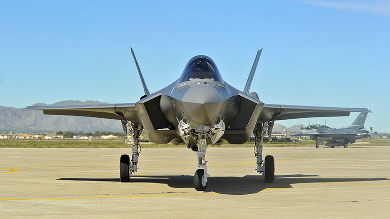 Air supply problem grounds F-35s at USAF base in Arizona