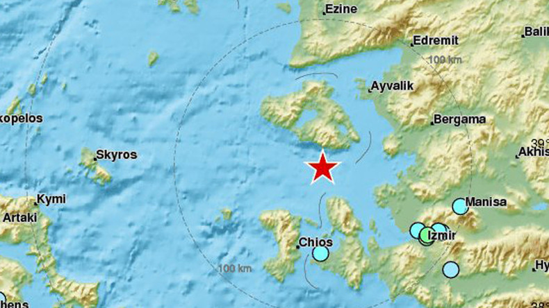 6.3 earthquake strikes Aegean Sea, 1 person killed on Lesbos (PHOTOS, VIDEOS)