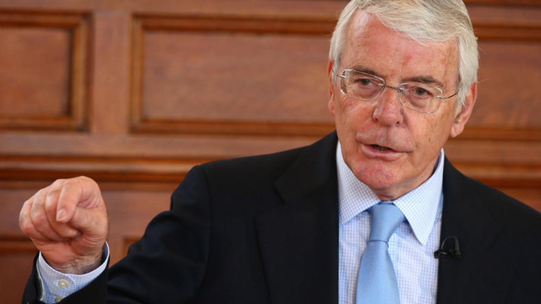 Former Tory PM John Major intervenes over 'fragile' DUP deal