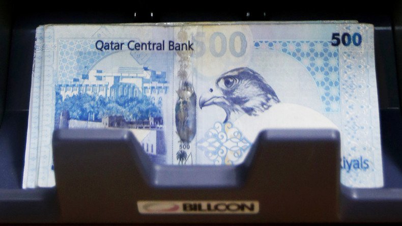 Qatari currency hits 19-year low as diplomatic crisis deepens