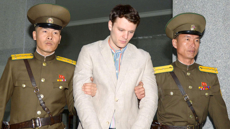 N. Korea releases American student Otto Warmbier sentenced to 15yrs, now in coma