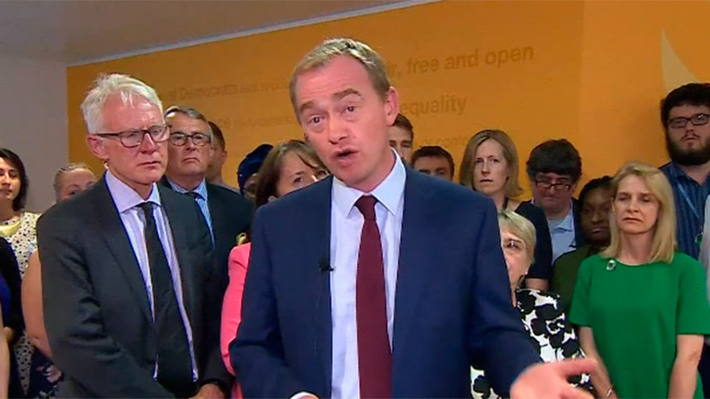LibDem leader Tim Farron resigns, says his Christianity made job 'impossible'