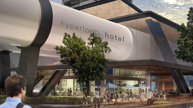 Hyperloop Hotel? Futuristic concept builds on Musk's high-speed transport tunnel (PHOTO)