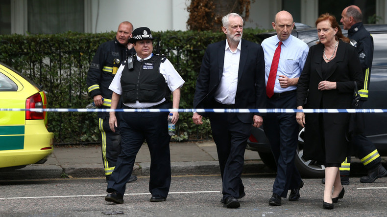 Jeremy Corbyn: Give empty luxury properties to the Grenfell fire homeless