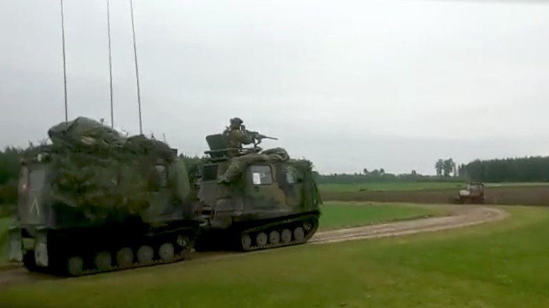 Backyard war drills: Latvian man releases video of NATO exercises on private property (VIDEO)