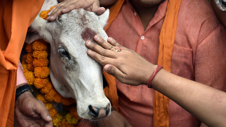 Beef-eaters should be 'hanged in public' for consuming sacred cows, says Hindu leader