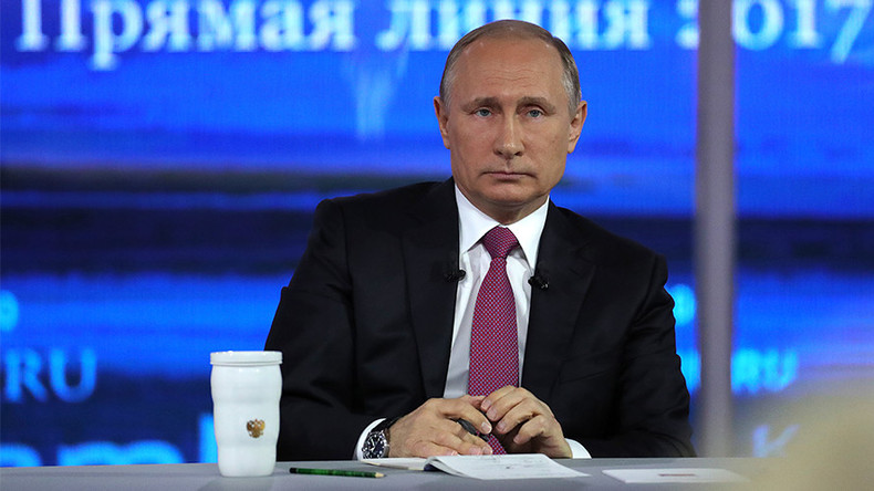 Putin at Direct Line Q&A: America is not Russia's enemy