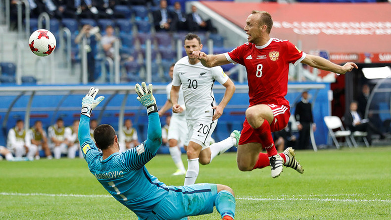 2017 Confed Cup opener: Russia 2-0 New Zealand