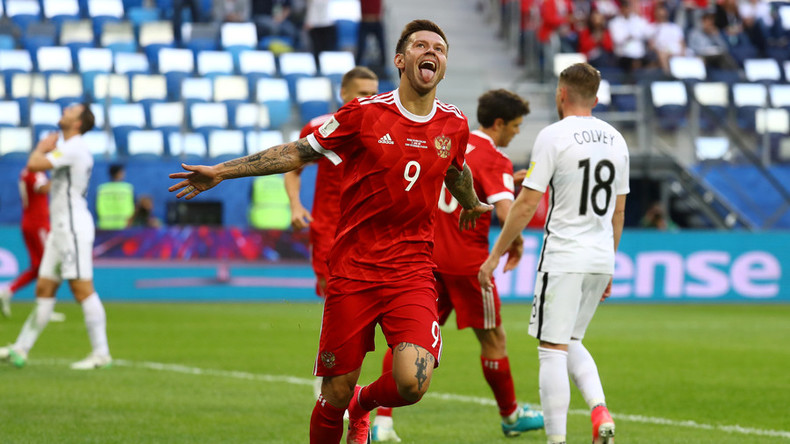 Russia 2-0 New Zealand – Hosts victorious in Confed Cup curtain raiser in St. Petersburg