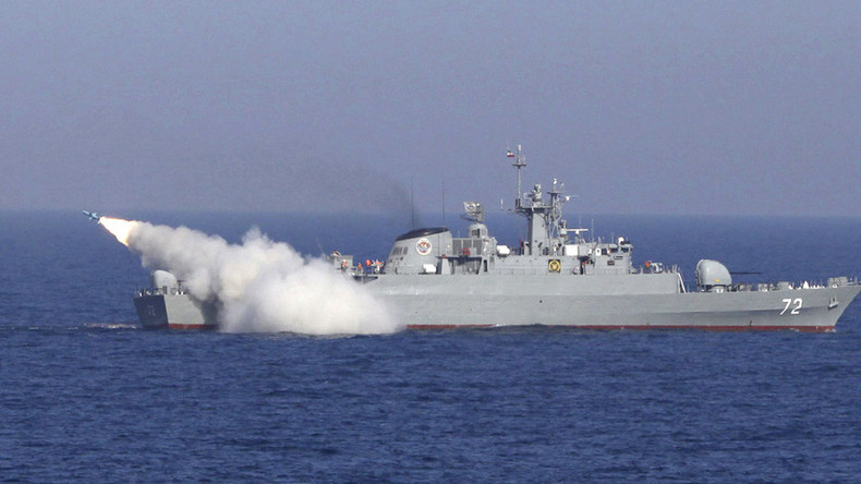 Iran & China conduct joint naval exercises in strategic Strait of Hormuz