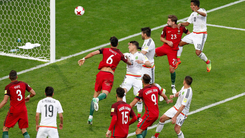 Portugal 2-2 Mexico: All square in Confed Cup Group A clash in Kazan