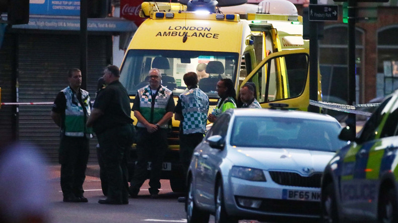 At least 1 dead at the scene, 10 injured in London's Finsbury Park van attack