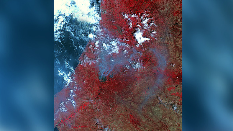 Full extent of Portugal's wildfire that killed 62 as seen from space (PHOTOS)