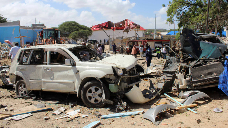 Al-Shabaab car bomb kills up to 10, injures 20 outside govt building in Mogadishu (PHOTOS)