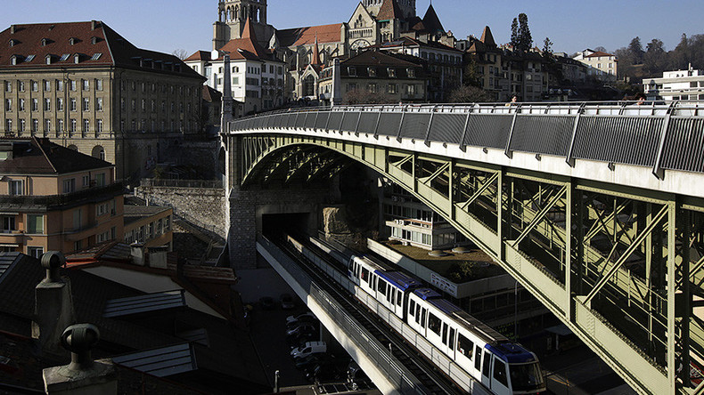Man shouting 'Allahu Akbar' causes terrorism scare on Swiss subway