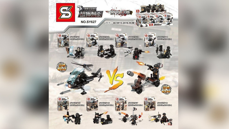 ISIS-inspired toy set draws strong rebuke from LEGO (PHOTOS)