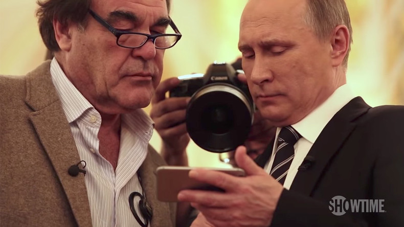 'Why would he fake it?': Oliver Stone responds to allegations Putin showed him 'wrong' Syria video