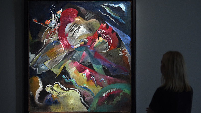 Record price for Kandinsky painting broken twice as masterpiece fetches $42mn