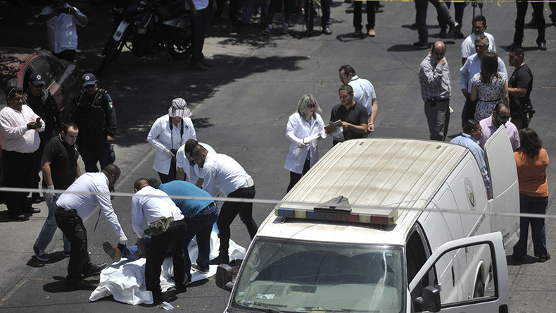 3 killed every hour: Mexico's murder rate reaches 20-year high