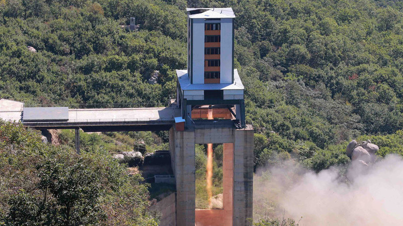 North Korea tests suspected ICBM rocket engine – US officials